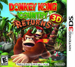 Donkey Kong Country Returns 3DS Used