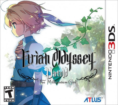 Etrian Odyssey Untold The Millennium Girl 3DS Used Cartridge Only