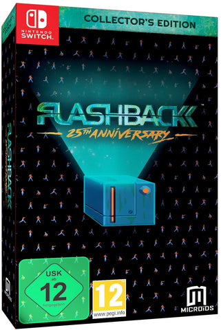 Flashback Collectors Edition Import Switch New