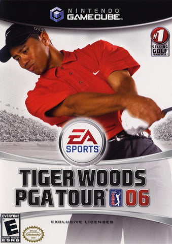 Tiger Woods 2006 GameCube Used