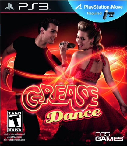Grease Dance Move Required PS3 Used