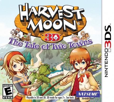 Harvest Moon Tale Of Two Towns 3DS New