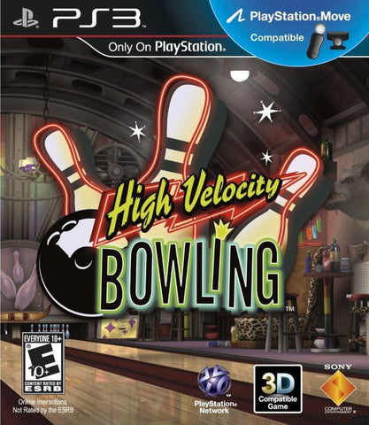 High Velocity Bowling Move Required PS3 Used