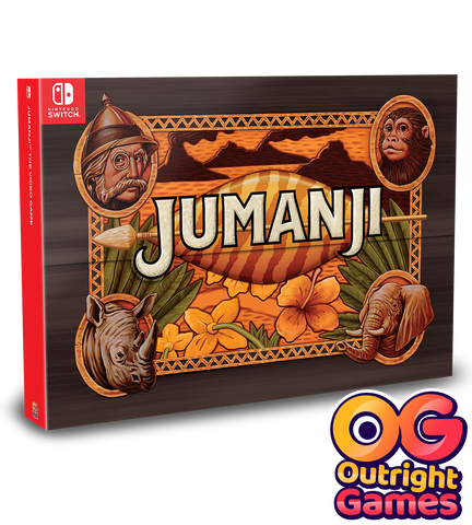 Jumanji Collectors Edition Switch New
