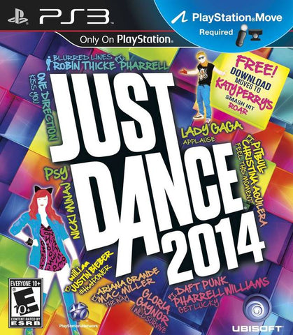 Just Dance 2014 Move Required PS3 Used
