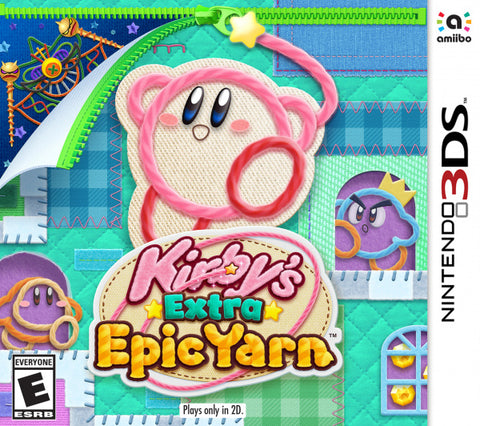 Kirbys Extra Epic Yarn 3DS New