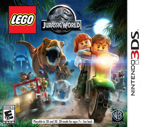 Lego Jurassic World 3DS New