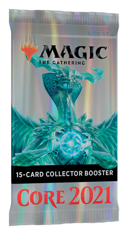 Magic Core Set 2021 Collector Booster Pack