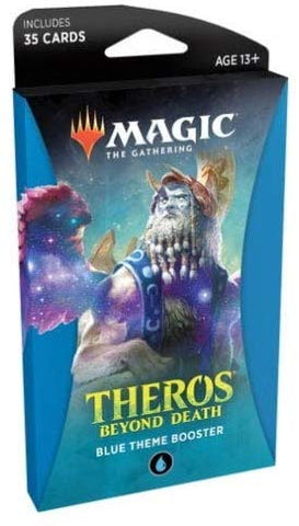 Magic Theros Beyond Death Theme Booster Pack Blue