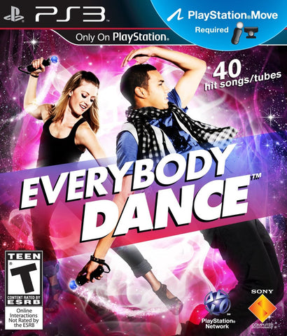 Everybody Dance Move Required PS3 Used