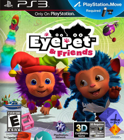 Eye Pet & Friends Move Required PS3 Used