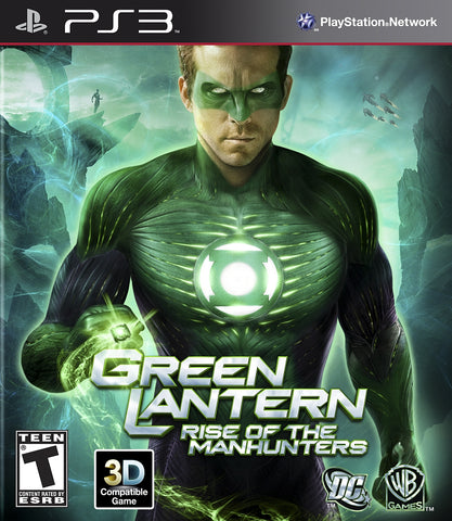 Green Lantern Rise Of Manhunters PS3 Used