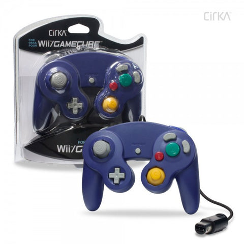 Gamecube Controller Wired Cirka Purple New