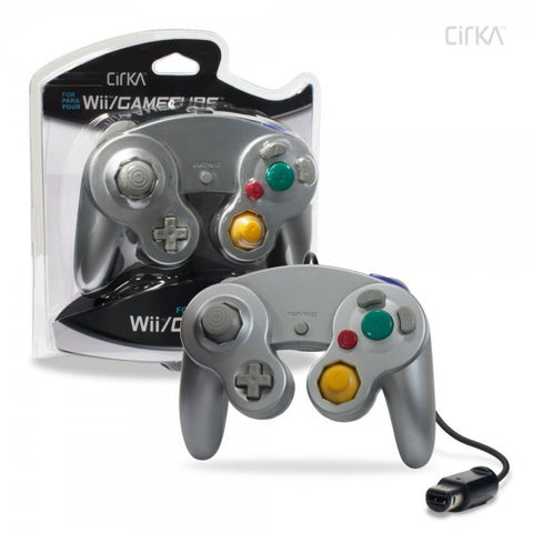 Gamecube Controller Wired Cirka Silver New