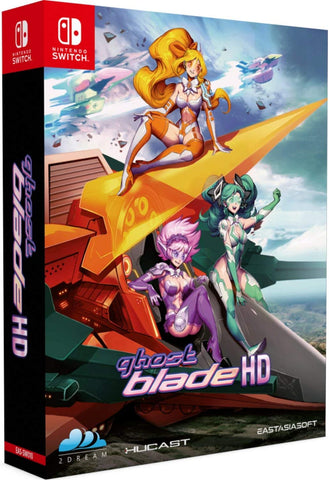 Ghost Blade HD Limited Edition Import Switch New