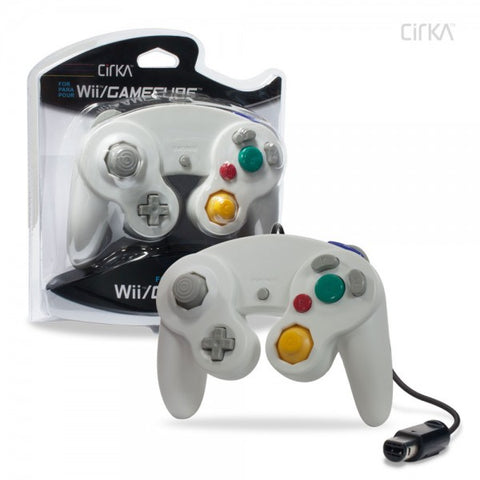 Gamecube Controller Wired Cirka White New