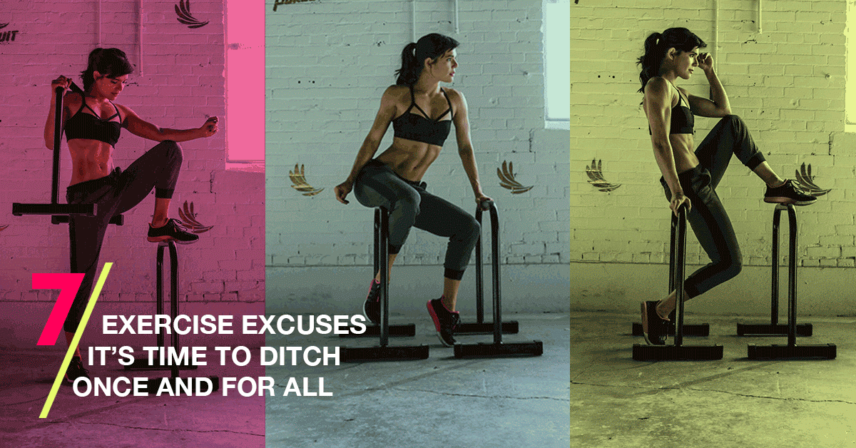 Image of Bodyrock blog article - 7 Exercise Excuses It's Time To Ditch Once And For All