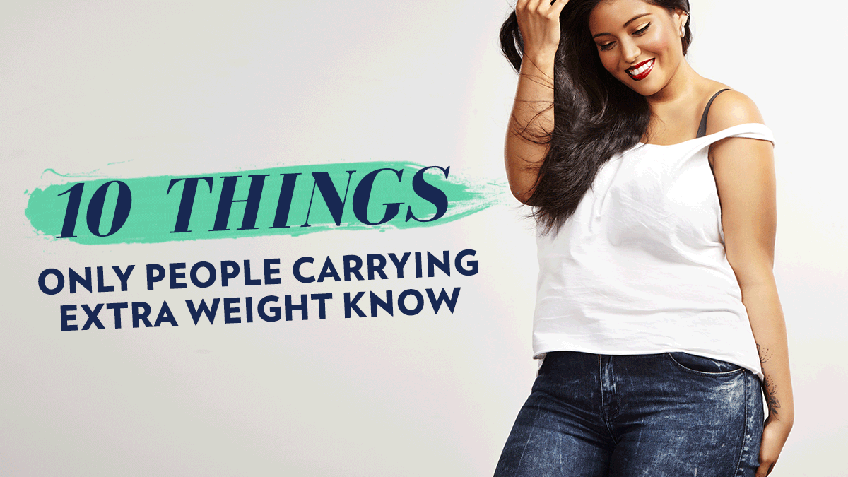 Image of Bodyrock blog article - 10 Things Only People Carrying Extra Weight Know