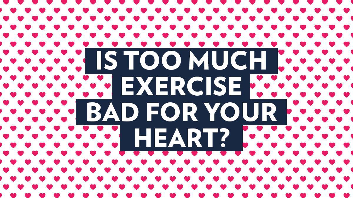 Image of Bodyrock blog article - Is Too Much Exercise Bad For Your Heart?