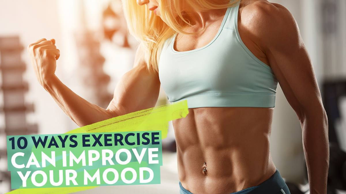 Image of Bodyrock blog article - 10 Ways Exercise Can Improve Your Mood