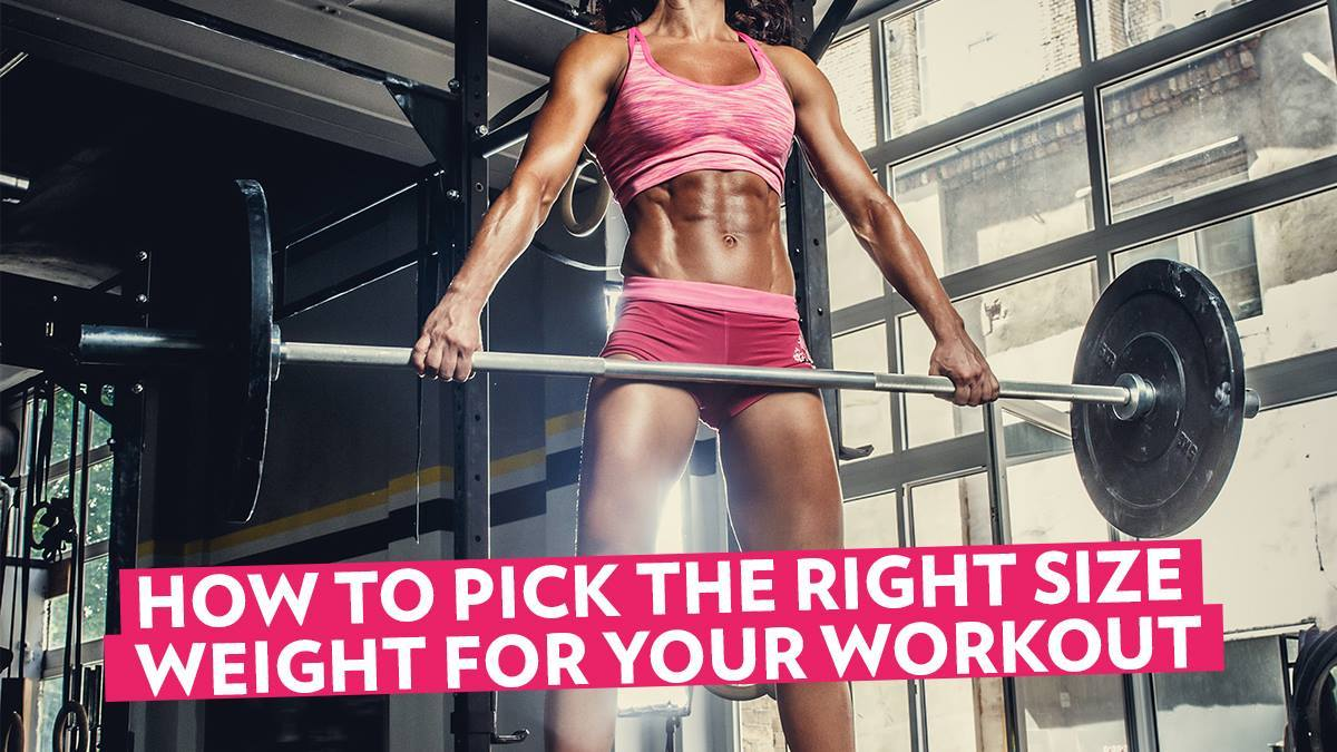 Image of Bodyrock blog article - How To Pick The Right Size Weight For Your Workout