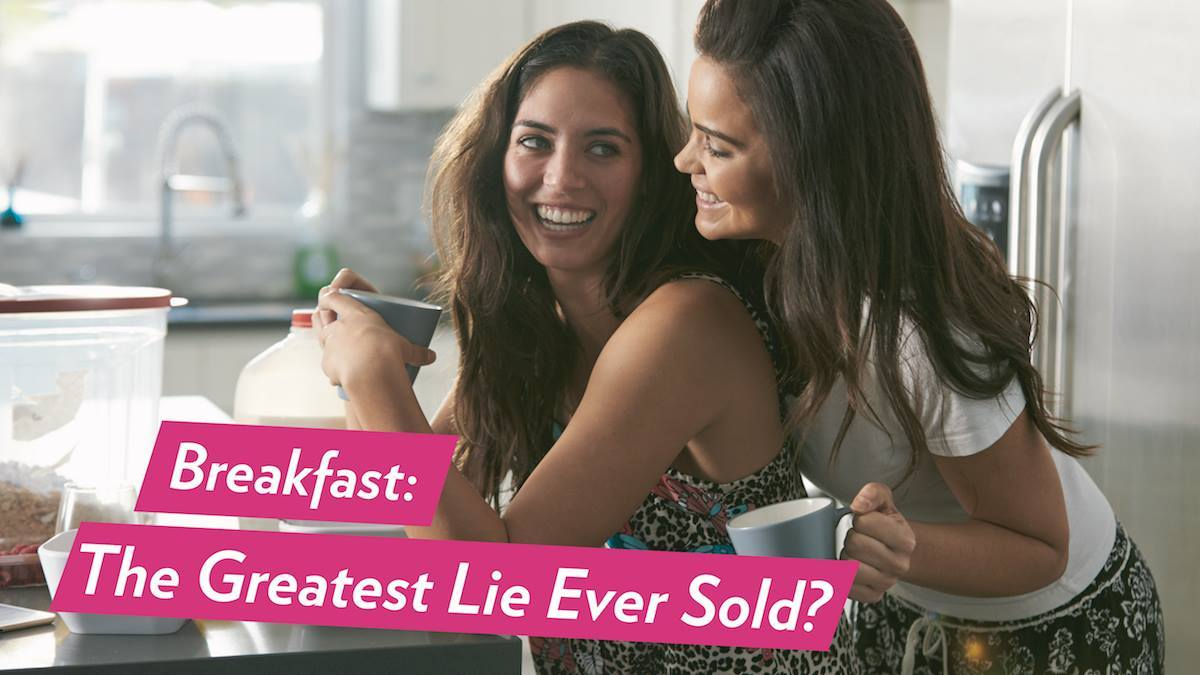 Image of Bodyrock blog article - Breakfast: The Greatest Lie Ever Sold?