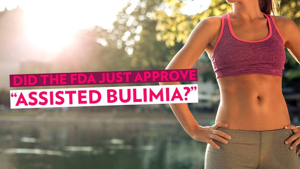 "Image of Bodyrock blog article - Did The FDA Just Approve ""Assisted Bulimia?"""