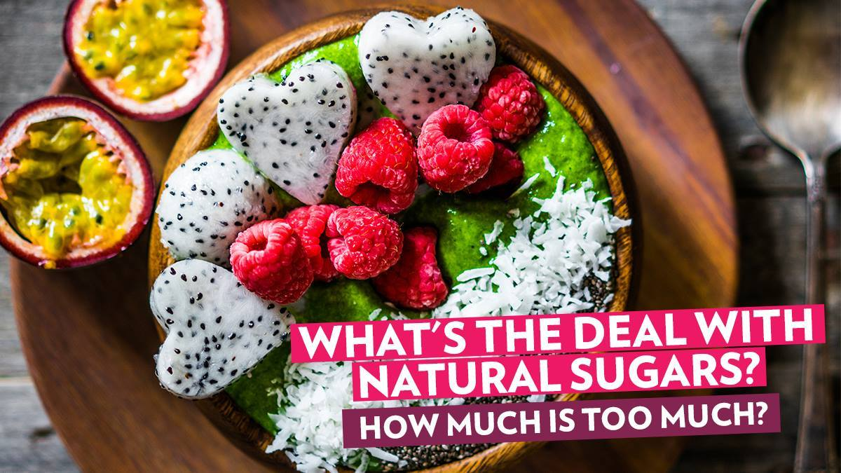 Image of Bodyrock blog article - What's The Deal With Natural Sugars? How Much Is Too Much?