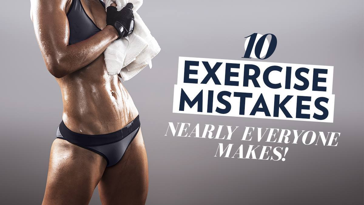 Image of Bodyrock blog article - 10 Exercise Mistakes Nearly Everyone Makes!
