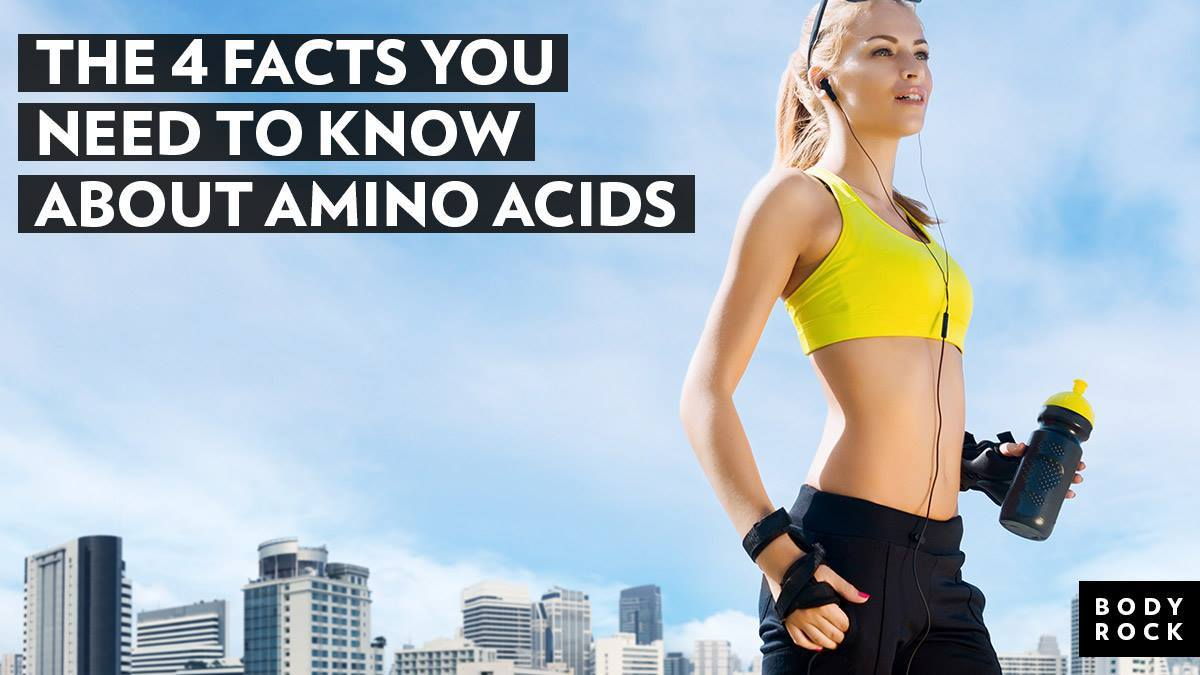 Image of Bodyrock blog article - The 4 Facts You Need To Know About Amino Acids