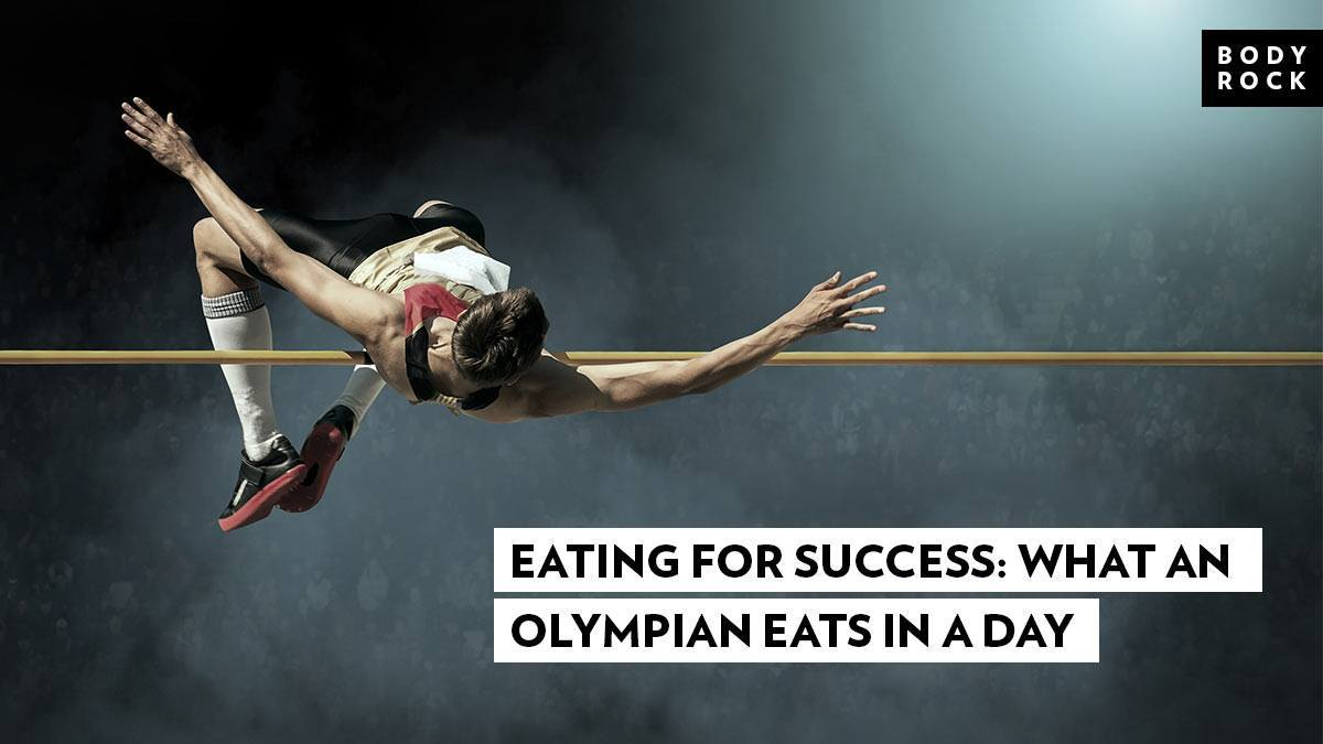 Image of Bodyrock blog article - Eating For Success: What An Olympian Eats In A Day