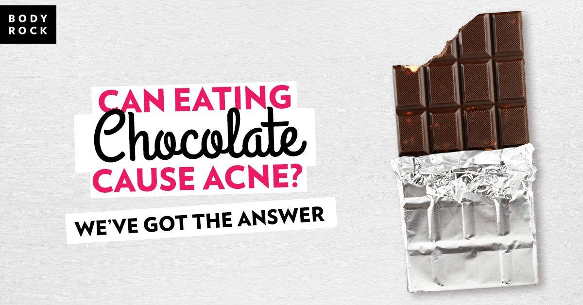 Image of Bodyrock blog article - Can Eating Chocolate Cause Acne? We've Got The Answer!