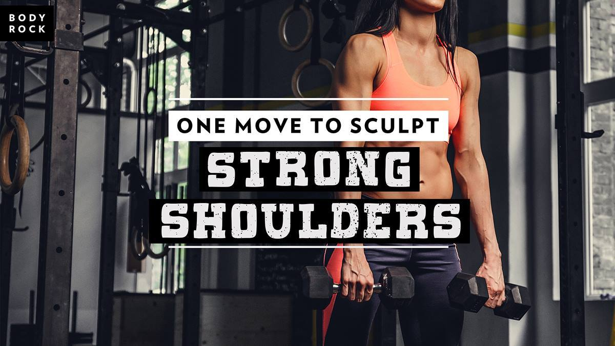 Image of Bodyrock blog article - One Move To Sculpt Strong Shoulders