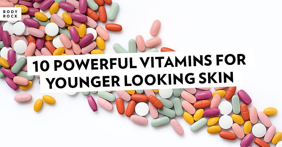 Image of Bodyrock blog article - 10 Powerful Vitamins For Younger Looking Skin