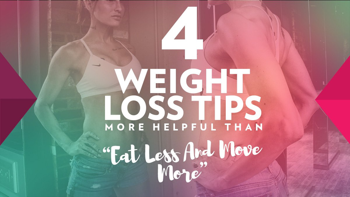 "Image of Bodyrock blog article - 4 Weight Loss Tips More Helpful Than ""Eat Less And Move More"""