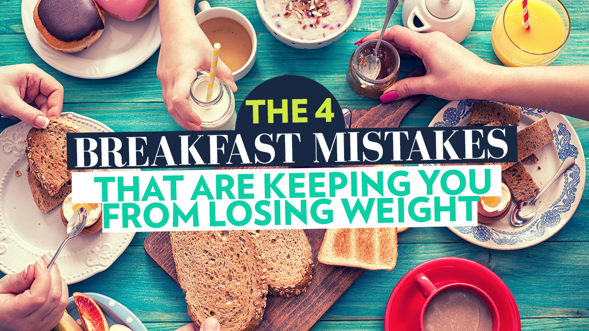 Image of Bodyrock blog article - The 4 Breakfast Mistakes That Are Keeping You From Losing Weight