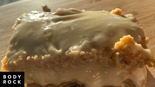 Sean's High Protein Carrot Cake Squares