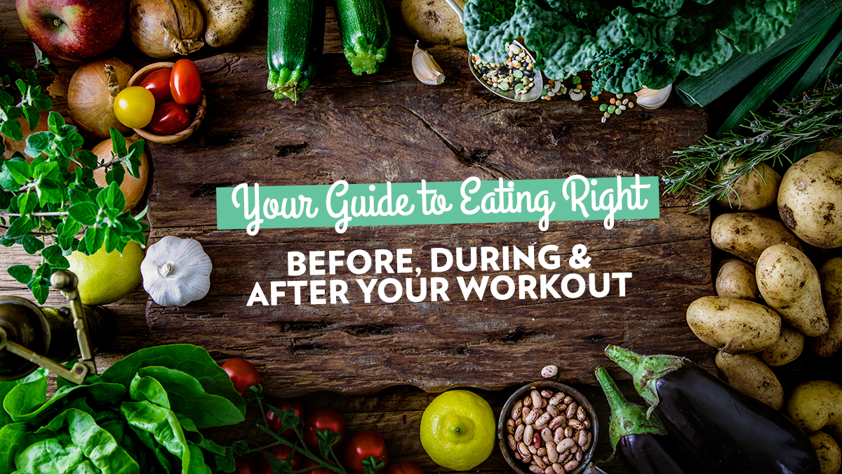 Image of Bodyrock blog article - Your Guide to Eating Right Before, During and After Your Workout
