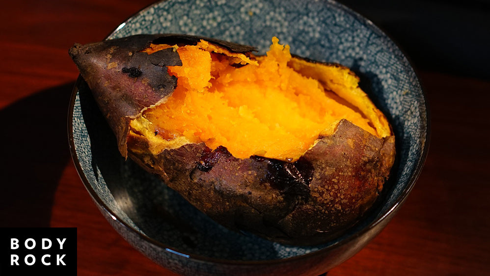 Power Up! Baked Breakfast Sweet Potato Recipe