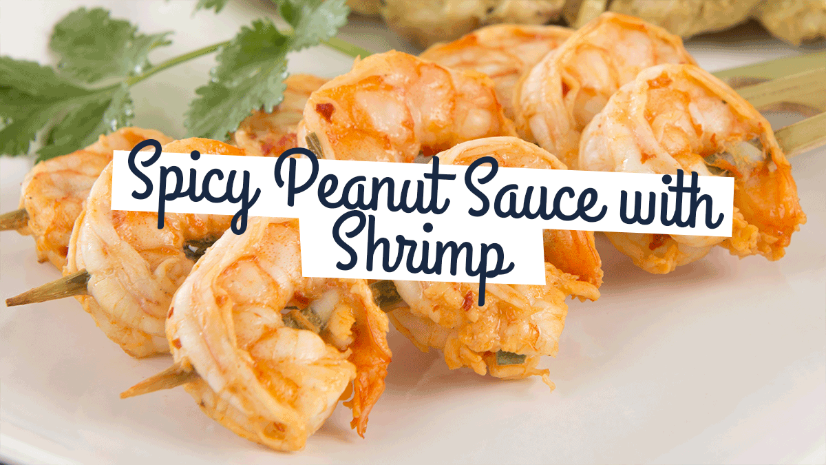 Image of Bodyrock blog article - Spicy Peanut Sauce with Shrimp