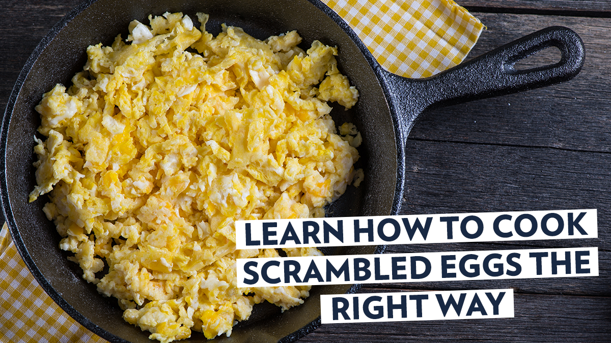 Image of Bodyrock blog article - Learn How to Cook Scrambled Eggs the Right Way