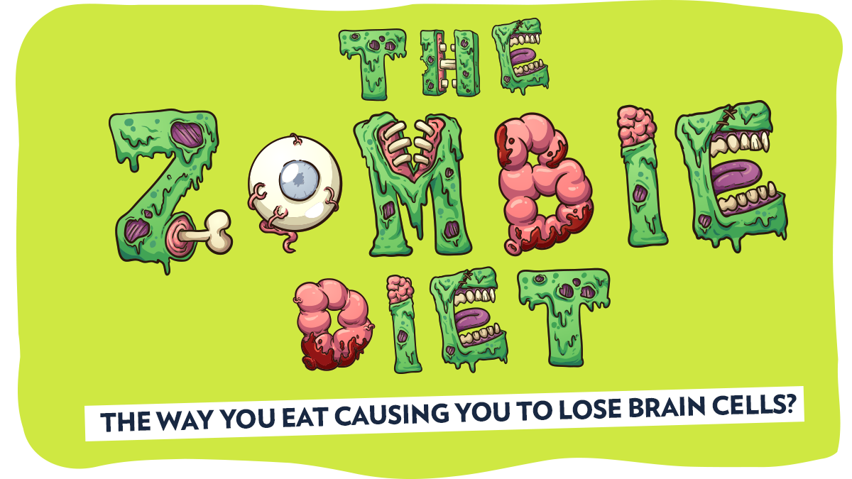 Image of Bodyrock blog article - The Zombie Diet: Is The Way You Eat Causing You To Lose Brain Cells?