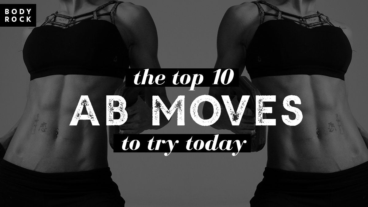 Image of Bodyrock blog article - The Top 10 Ab Moves To Try Today!