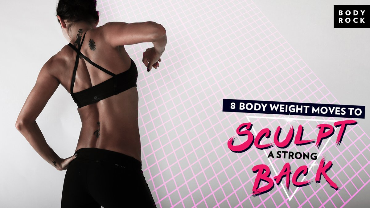 Image of Bodyrock blog article - 8 Body Weight Moves To Sculpt A Strong Back