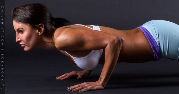 Image of Bodyrock blog article - Don't Be Afraid: Even YOU Can Learn To Do Push-Ups