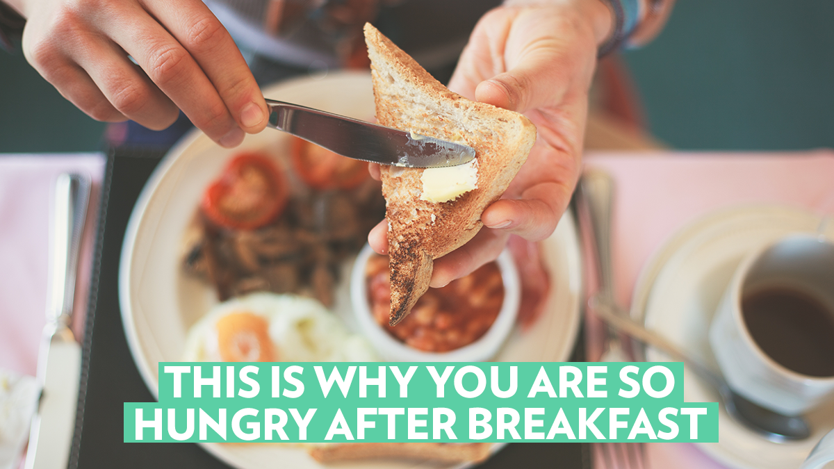 Image of Bodyrock blog article - This Is Why You Are So Hungry After Breakfast