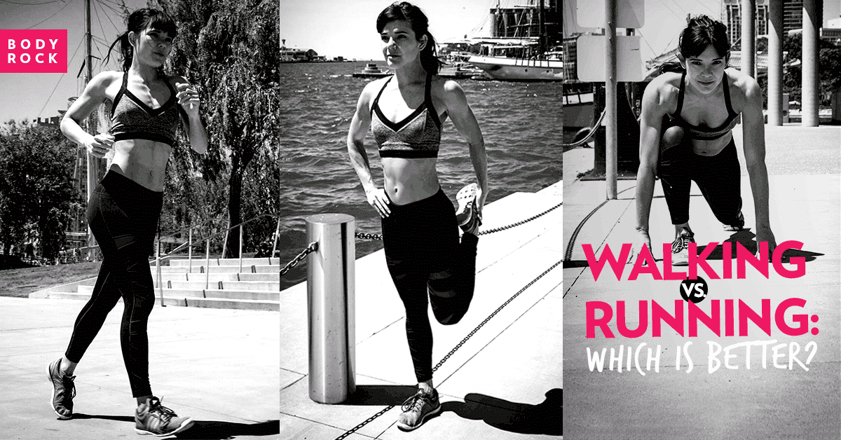 Image of Bodyrock blog article - The Truth Behind Walking vs. Running for Weight Loss