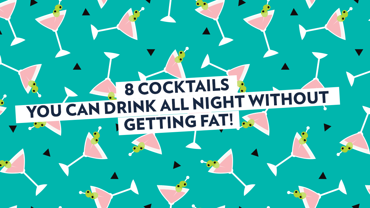 Image of Bodyrock blog article - 8 Cocktails You Can Drink All Night Without Getting Fat!