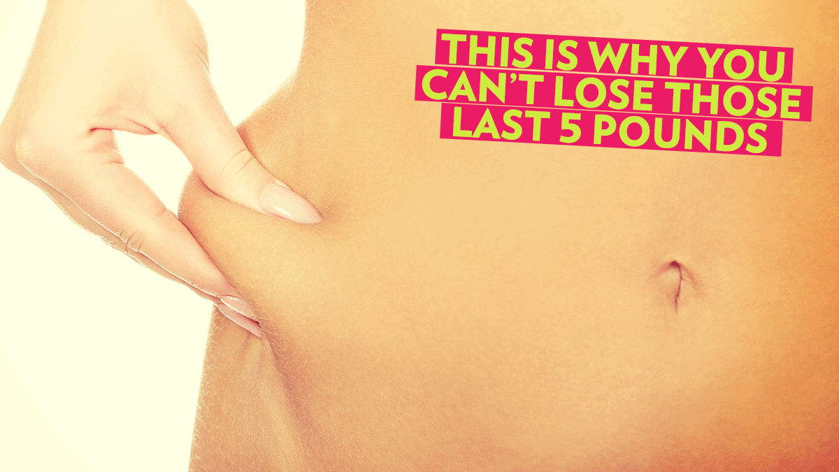 Image of Bodyrock blog article - This Is Why You Can't Lose Those Last 5 Pounds