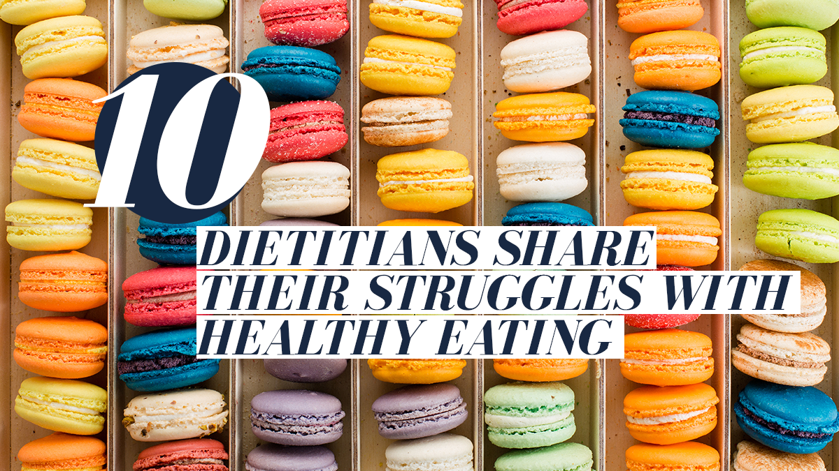 Image of Bodyrock blog article - 10 Dietitians Share Their Struggles With Healthy Eating